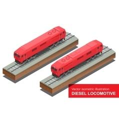 isometric of Diesel vector image