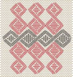 pullover pattern vector image