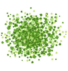 st patrick day green splash vector image