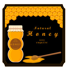the honey vector image vector image