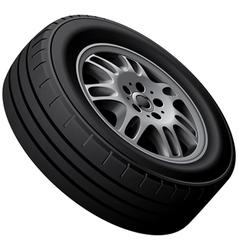 Vans wheel vector image vector image