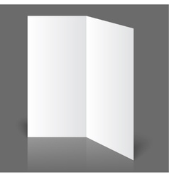 White blank vector image