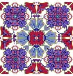 Beautiful seamless ornamental tile background vector