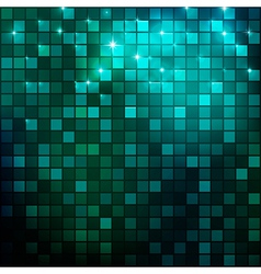 Night mosaic vector