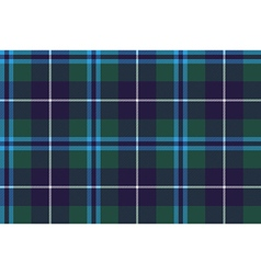 douglas tartan seamless pattern fabric texture vector image