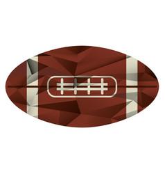 Ball american football icon abstract vector
