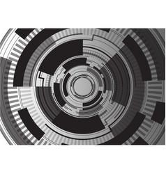 black digital template background vector image vector image