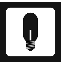 Bulb icon in simple style vector image vector image
