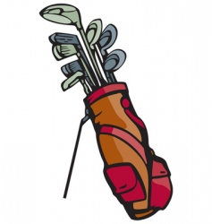 golf graphic vector image