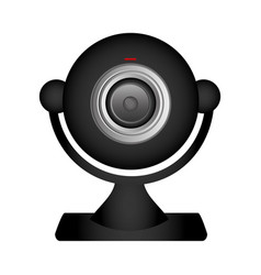 Technology computer webcam icon vector