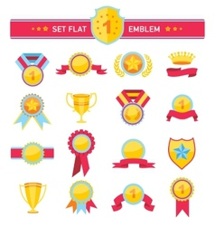 Vintage ribbons and banners series of vector