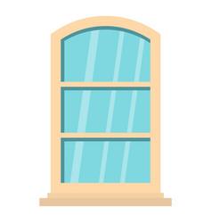 White narrow window icon isolated vector