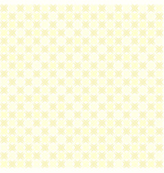 yellow abstract checkered pattern seamless vector image
