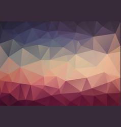 Original vintage color triangle wallpaper vector