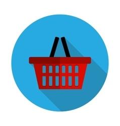 Flat Design Concept Shopping Bag vector image