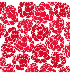Abstract raspberries vector