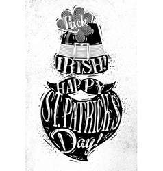Poster st patrick vector