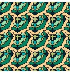 Colorful moroccan tiles ornaments can be used for vector