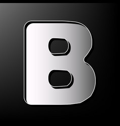 Letter b sign design template element vector