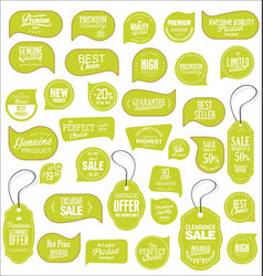 modern sale stickers collection 8 vector image vector image