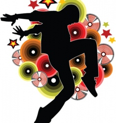 new dance vector image