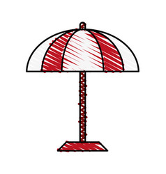 umbrella icon image vector image vector image