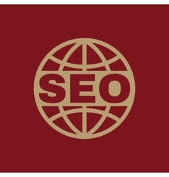 The seo icon www and browser development seo vector