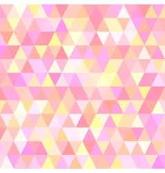 A background with triangles vector