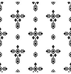 Tribal ornament pattern vector