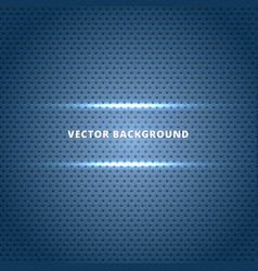 Abstract carbon fiber surface with blue light vector