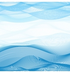 Abstract image background of blue-white ribbons vector