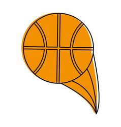 Basketball ball icon image vector