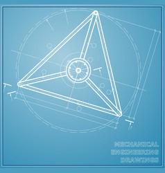 Mechanical engineering drawings engineering vector