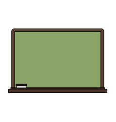 school blackboard element vector image vector image