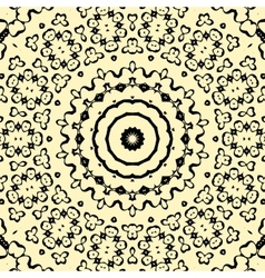 Seamless pattern oriental style indian henna vector image vector image