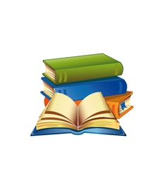 Books 2 vector