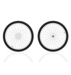 bicycle wheel 03 vector image vector image