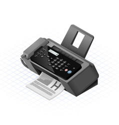 Isometric fax vector