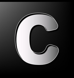 Letter c sign design template element vector