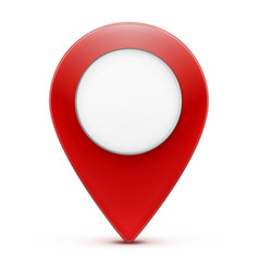 location pointer icon vector image vector image