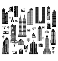 City mix vector image