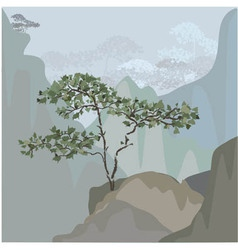 Chinese tree vector
