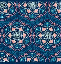 handdrawn ethnic ornamental seamless vector image vector image