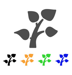 plant sprout flat icon vector image
