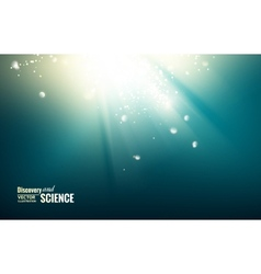 Science color background vector image vector image