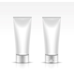 Tube for cosmetic package vector