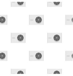 Air conditioner compressor unit pattern seamless vector