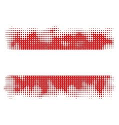 ausrtian flag halftone vector image