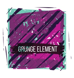 Colorful grunge texture vector