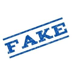 Fake watermark stamp vector
